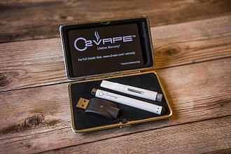 white slim pack vape