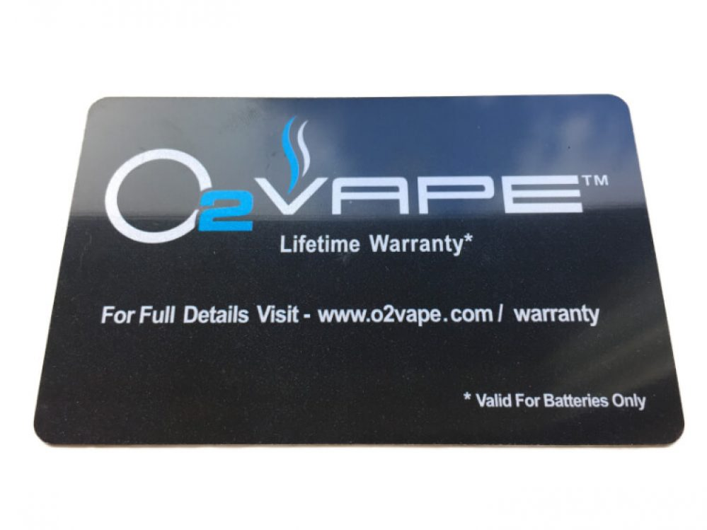 lifetime warranty vape pen
