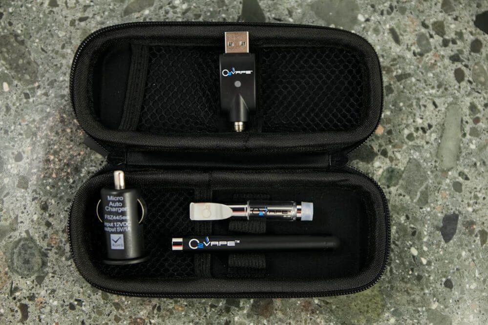 black premium buttonless vape pen kit