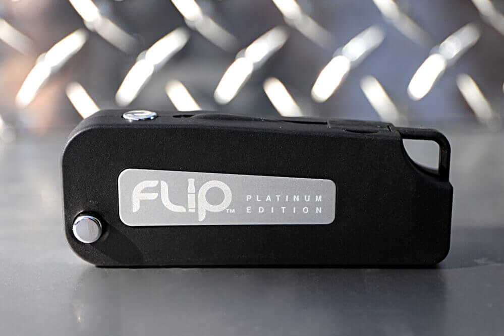 O2VAPE FLIP® VAPE PLATINUM EDITION - Auto On/ Off, Variable Voltage