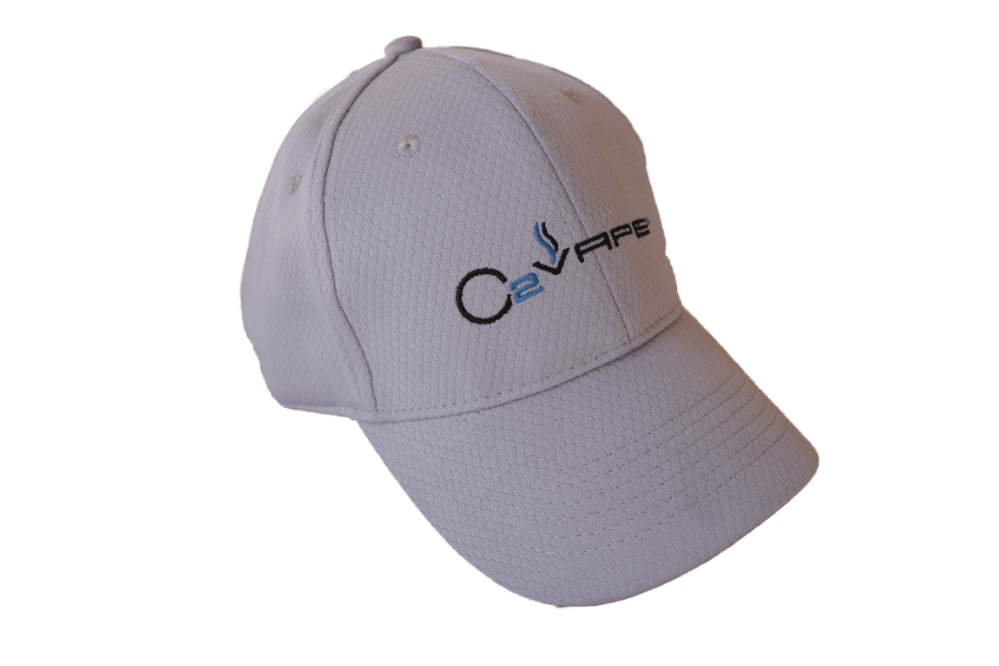 O2VAPE golf hat side