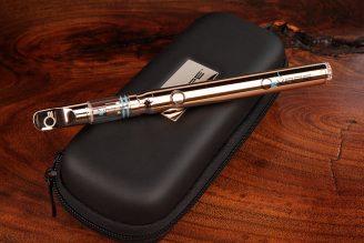 O2VAPE Flip® Vape Platinum   Concealable, Variable, Ceramic